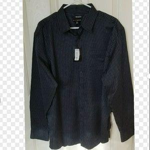 Murano Mens Long Sleeve dress shirt XL